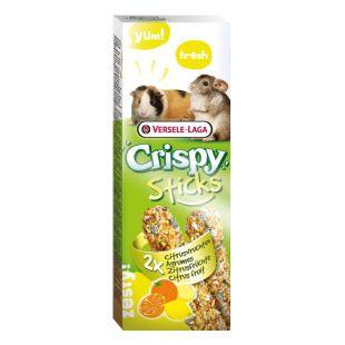 VERSELE LAGA Crispy Sticks jūros Kiaulytėms ir šinšiloms su citrusiniais vaisiais 2 vnt.