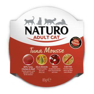 NATURO Cat Tuna Mousse Konservuotas pašaras 85 g