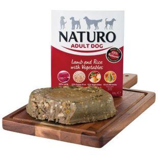 NATURO Adult Lamb & Rice with Veg. Konservuotas pašaras šunims 400 g