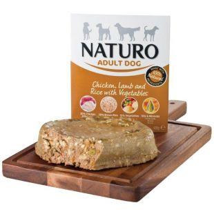 NATURO Adult Chicken, Lamb & Rice with Veg. Konservuotas pašaras šunims 400 g