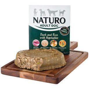 NATURO Adult Duck & Rice with Veg. Konservuotas pašaras šunims 400 g