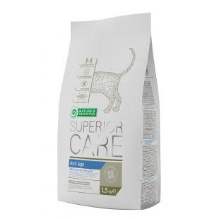 NATURE'S PROTECTION SUPERIOR CARE Anti Age Cat Pašaras katėms 1.5 kg