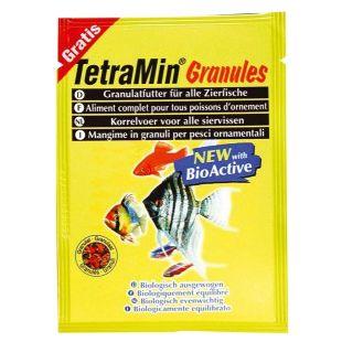 TETRA TetraMin GranulesSachet Pašaras dekoratyvinėms žuvims 15 g