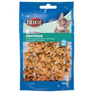 TRIXIE skanėstai katėms Dentinos su vitaminais 50 g