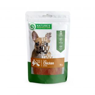 NATURE'S PROTECTION skanėstas mažiems šunims su vištiena 75 g
