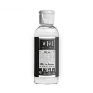 TAURO PRO LINE White Coat Whitening Šampūnas šunims ir katėms 100 ml
