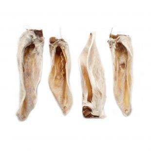 NATURE LIVING Skanėstas šunims džiovintos ėriuko ausys su kailiu 100 g