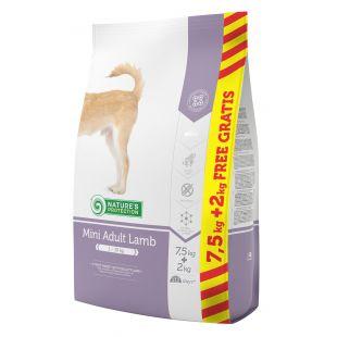 NATURE'S PROTECTION Mini Small breeds Adult Lamb Sausas pašaras šunims 7.5+2 kg