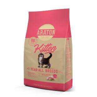 ARATON Kitten Sausas pašaras 1.5 kg