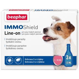 BEAPHAR Immo Shield Šunų lašai, 1 pipetė 1 pipetė mažų veislių šunims x 3