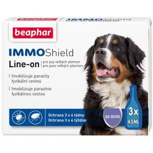 BEAPHAR Immo Shield Šunų lašai, 1 pipetė 1 pipete didelėms  veislėms x 3