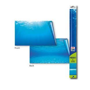 JUWEL Poster Fonas su vandens atvaizdu akvariumui L dvipusis  120-150x60 cm, XL dydis.