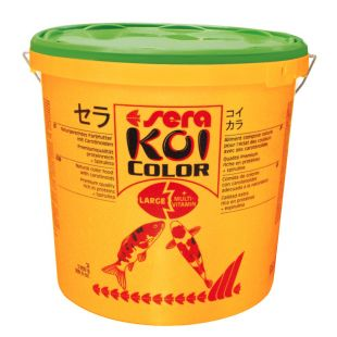 SERA Koi color large Pašaras japoniškiems karpiams, ryškinantis spalvas 21 l