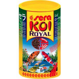 SERA Koi Royal Medium Pašaras karpiams 3800 ml