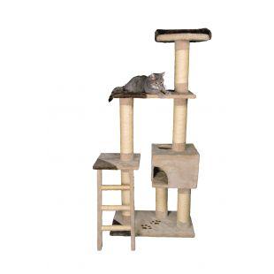 TRIXIE Montoro Draskyklė katėms smėlio spalvos, 69x39x165 cm