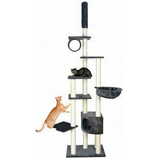 TRIXIE Madrid Draskyklė katėms pilka, 68x44x245/270 cm
