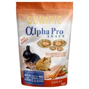 CUNIPIC Snack Užkandis graužikams morkų, 50 g