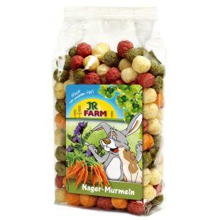 JR FARM Rodent Marbles Pašaro papildas graužikams ir nykštukiniams triušiams 70 g