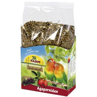 JR FARM Individual For Love birds Lesalas neišskiriamosioms papūgėlėms 1 kg