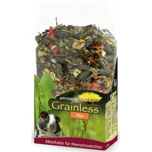 JR FARM Grainless Mix Begrūdis pašaras jūros kiaulytėms 650 g