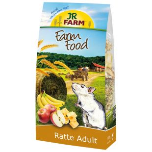 JR FARM Food Rats Adult Pašaras žiurkėms 500 g