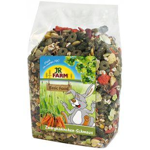 JR FARM Dwarf rabbits feast Pašaras nykštukiniams triušiams 1.2 kg