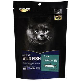 SALMON4PETS Skanėstai katėms lašišos gabaliukai 70 g