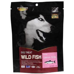 SALMON FOR FISH Skanėstai šunims lašišos juostelės (siauros) 70 g