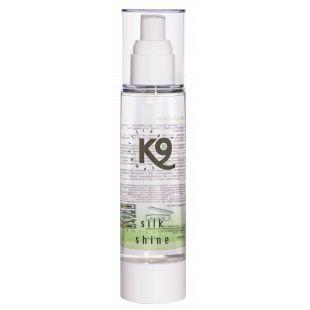 K9 COMPETITION Silk Shine Priemonė šunų ir kačių kailio priežiūrai 30 ml