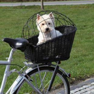 TRIXIE Krepšys gyvūnui vežti dviračiu juodas, 35x49x55cm