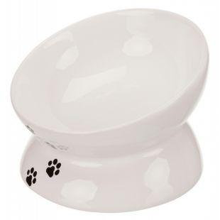 TRIXIE Keraminis kačių dubenėlis baltas, 250 ml, 13 cm