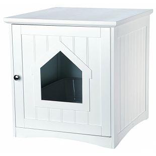 TRIXIE Namas kačių tualetams, baltas, 49x51x51 cm