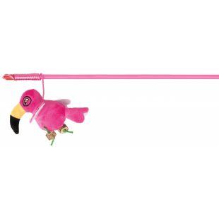 TRIXIE Žaislas katėms Lazdelė su paukščiu 40 cm