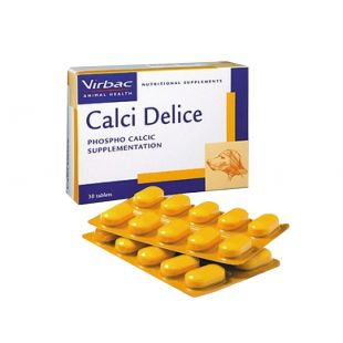 VIRBAC Calci Delice N30, 1 tbl