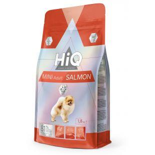 HIQ Mini Adult Salmon Sausas pašaras šunims 1.8 kg