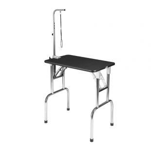 SHERNBAO Sulankstomas stalas su nerūdijančio plieno kojelėmis S, 75x47x 82 cm