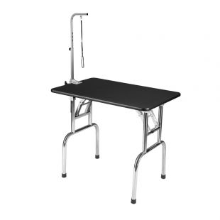 SHERNBAO Sulankstomas stalas su nerūdijančio plieno kojelėmis M, 90x60x76 cm