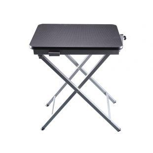 SHERNBAO X formos stalas juodas, 60x45x71 cm
