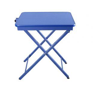 SHERNBAO X formos stalas mėlynas, 60x45x71 cm