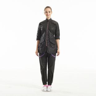 SHERNBAO Kirpėjų kelnės, juodos spalvos, XL