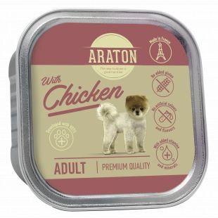 ARATON Adult with chicken, konservuotas pašaras suaugusiems šunims su vištiena 150 g