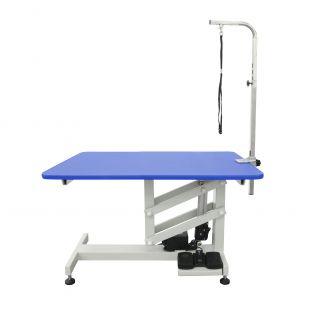 SHERNBAO Elektrinis Z kėlimo stalas, mėlynas, 94x64x54 cm
