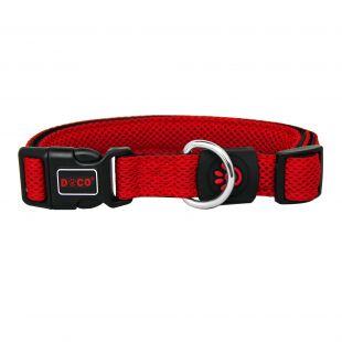 DOCO Puffy kvėpuojantis antkalis šunims raudonas, XS dydis