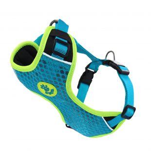 DOCO Super 3D reguliuojamos petnešos šunims žalios, S dydis