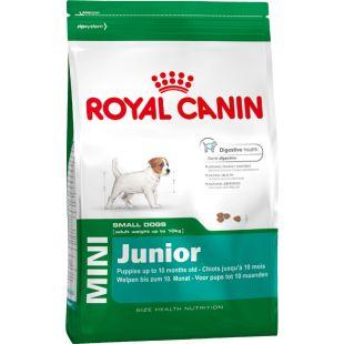 ROYAL CANIN Mini Junior Sausas pašaras šunims 8 kg