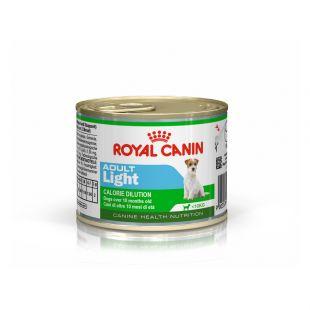 ROYAL CANIN Mini adult light Konservuotas pašaras šunims 195 g