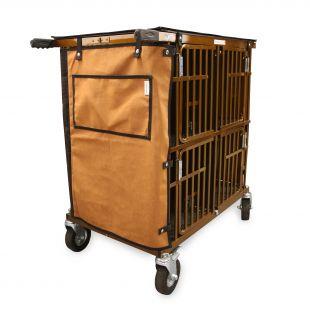 HYDROGROOM 4-Berth gyvūnų vežimėlis karamelinės spalvos