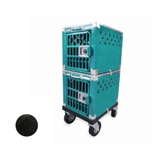 HYDROGROOM 100 Crate gyvūnų narvas dvigubas mėlynas