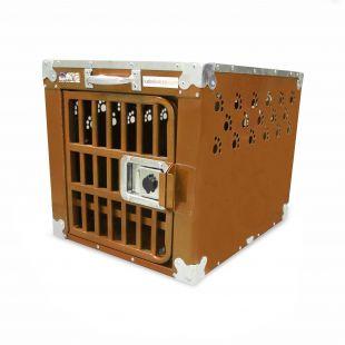 HYDROGROOM 100 Crate gyvūnų narvas viengubas karamelinės spalvos