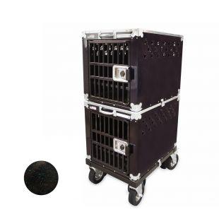 HYDROGROOM 200 Crate gyvūnų narvas dvigubas mėlynas